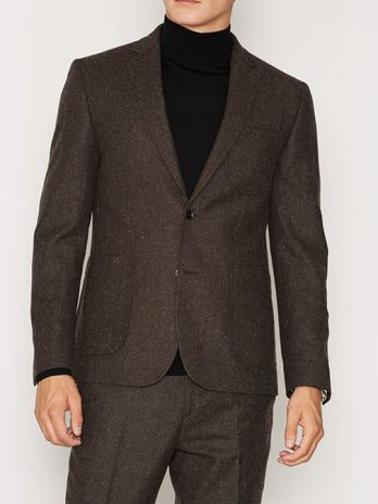 Slim Fit Tweed Blazer
